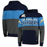 Men's G-III Sports by Carl Banks Navy Los Angeles Chargers Extreme Special Team Pullover Hoodie
