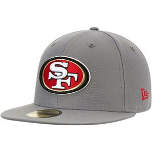 top fashion clearance prices super specials Men's New Era White San Francisco 49ers Omaha 59FIFTY Fitted Hat ...
