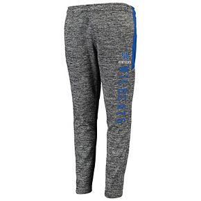 Youth Heathered Gray/Royal Kentucky Wildcats Hotshot Fleece Pants