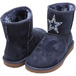 Women's Cuce Navy Dallas Cowboys The Rookie Mini Boots