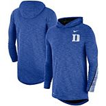 Men's Nike Royal Duke Blue Devils 2019 Sideline Long Sleeve Hooded Performance Top
