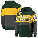 Men's G-III Sports by Carl Banks Green Green Bay Packers Extreme Special Team Pullover Hoodie