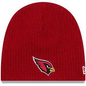 Newborn & Infant New Era Cardinal Arizona Cardinals Mini Fan Knit Beanie