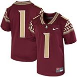 Preschool Nike #1 Garnet Florida State Seminoles Untouchable Football Jersey