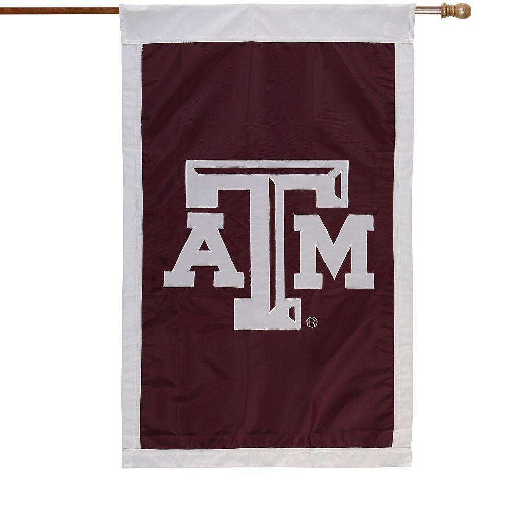 Texas A&M Aggies Maroon 28'' x 44'' Team Logo Applique Flag