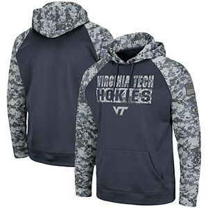 Colosseum Youth Virginia Tech Hokies Pull-Over Hoodie