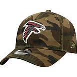Youth New Era Camo Atlanta Falcons Core Classic Woodland Camo 9TWENTY Adjustable Hat