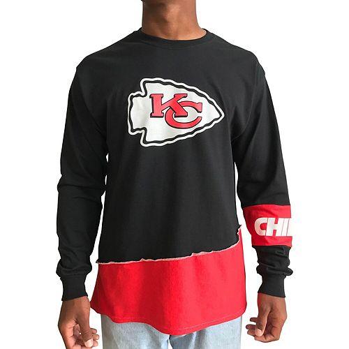 Kansas City Chiefs Logo Kansas City Chiefs Long Sleeve Black T-shirt