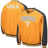Men's Colosseum Tennessee Orange Tennessee Volunteers Duffman Pullover Windbreaker