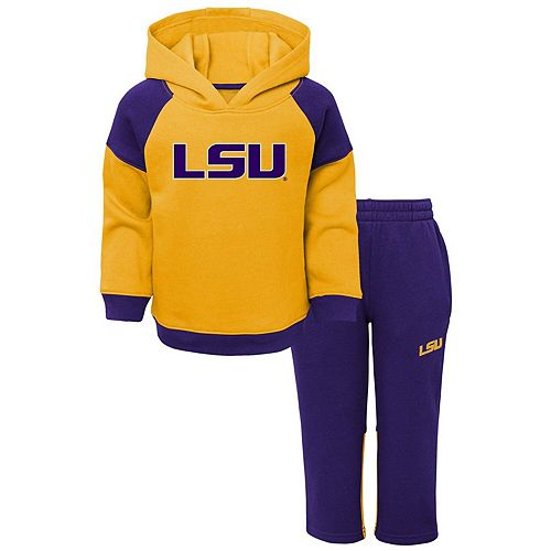 Outerstuff Baby LSU Tigers 2 Piece Shirt and Pant Set