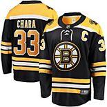 Men's Fanatics Branded Zdeno Chara Black Boston Bruins Breakaway Player Jersey