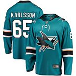 Men's Fanatics Branded Erik Karlsson Teal San Jose Sharks Home Premier Breakaway Player Jersey