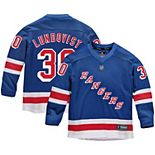 Youth Fanatics Branded Henrik Lundqvist Royal New York Rangers Replica Player Jersey