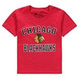 Toddler Fanatics Branded Red Chicago Blackhawks Team Victory Arch T-Shirt