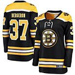 Women's Fanatics Branded Patrice Bergeron Black Boston Bruins Home Breakaway Player Jersey
