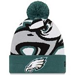 Preschool & Toddler New Era Midnight Green Philadelphia Eagles Whiz 3 Cuffed Knit Hat