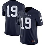 Men's Nike #19 Navy Penn State Nittany Lions Game Jersey