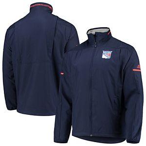 Men's adidas Blue New York Rangers Rink Full-Zip Jacket