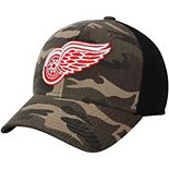 Men's adidas Camo/Black Detroit Red Wings Adjustable Hat