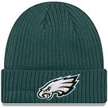 Toddler New Era Midnight Green Philadelphia Eagles Core Classic Cuffed Knit Hat