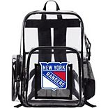 The Northwest New York Rangers Dimension Clear Backpack