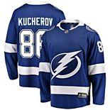 Men's Fanatics Branded Nikita Kucherov Blue Tampa Bay Lightning Home Breakaway Player Jersey
