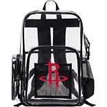 The Northwest Houston Rockets Dimension Clear Backpack