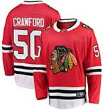 Men's Fanatics Branded Corey Crawford Red Chicago Blackhawks Breakaway Player Jersey
