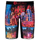 Youth Ethika for Fanatics Red Miami Heat Baller Boxer Brief