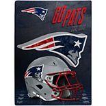 The Northwest New England Patriots 60'' x 80'' State Pride Throw Blanket