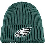 Youth New Era Midnight Green Philadelphia Eagles Core Classic Cuffed Knit Hat