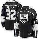 Youth Fanatics Branded Jonathan Quick Black Los Angeles Kings Home Breakaway Player Jersey
