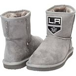 Women's Cuce Silver Los Angeles Kings The Rookie Mini Boots