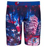 Youth Ethika for Fanatics Red/Blue LA Clippers Baller Boxer Brief