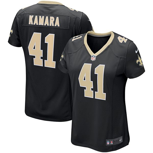 Women's Nike Alvin Kamara Black New Orleans Saints Game Jersey