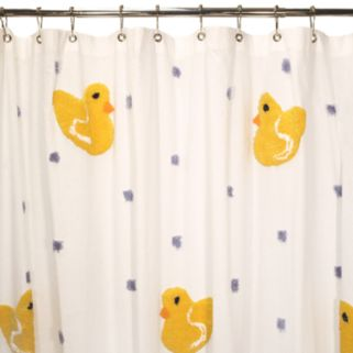 Park B. Smith Duck Fabric Shower Curtain