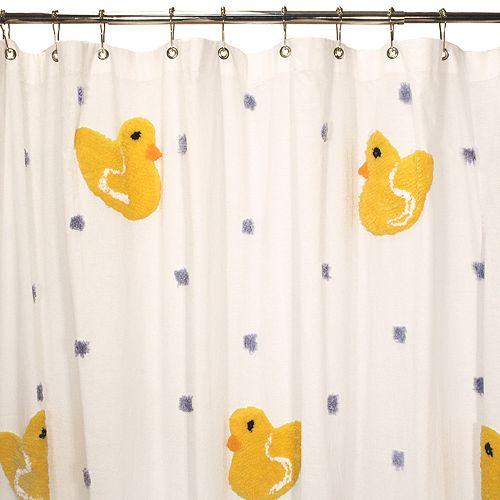 Park B Smith 174 Duck Fabric Shower Curtain
