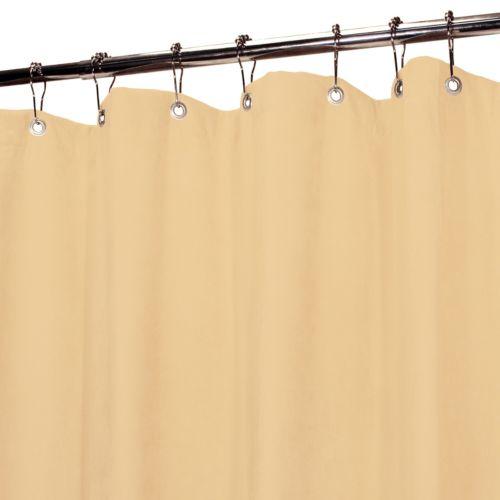 Park B. Smith Verona Faux-Suede Fabric Shower Curtain