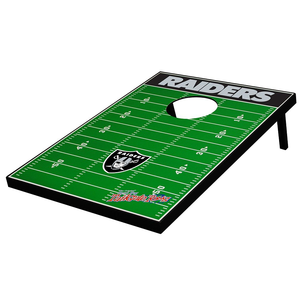 Oakland Raiders Tailgate Toss™ Beanbag Game