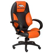 Denver Broncos Leather Office Chair