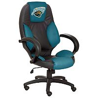 Jacksonville Jaguars Leather Office Chair