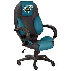 Jacksonville Jaguars Leather Office Chair