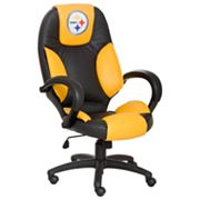 Pittsburgh Steelers Leather Office Chair