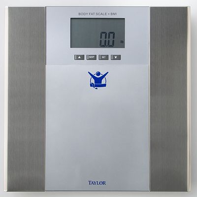 The Biggest Loser Body Fat Bathroom Scale