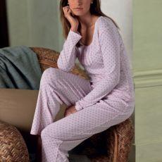 Chaps Diamond Pajama Set
