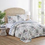 Nautical Reversible Quilt Set with Shams