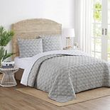 Captains Rope Knot Quilt Set with Shams