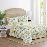 Lemon Orchard Reversible Quilt Set with Shams