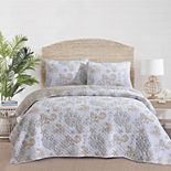 Sea Coral Quilt Set with Shams