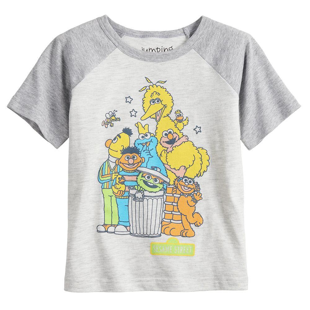 Toddler Boy Jumping Beans® Sesame Street Raglan Graphic Tee